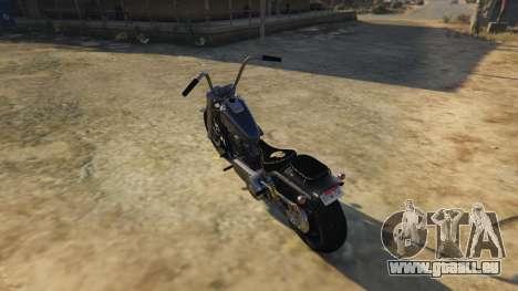 GTA 5 Daemon SOA Harley-Davidson hinten links Seitenansicht