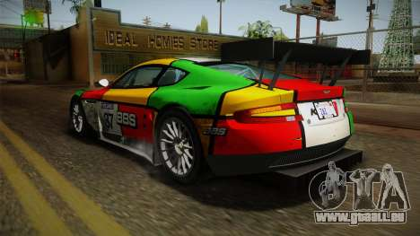 Aston Martin Racing DBR9 2005 v2.0.1 Dirt für GTA San Andreas