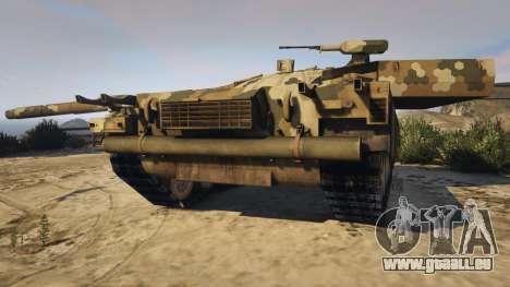 GTA 5 T-100 Varsuk vue arrière