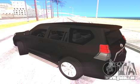 Toyota Land Cruiser Prado pour GTA San Andreas laissé vue