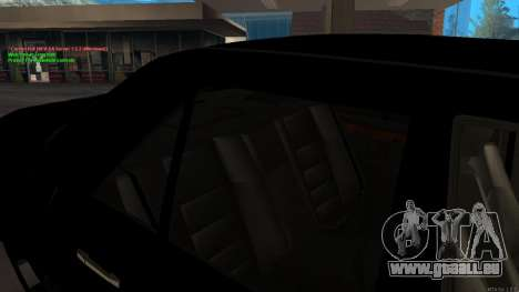 Mercedes-Benz W124 E500 Armenian für GTA San Andreas Unteransicht