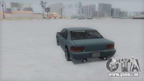 Sultan Winter IVF pour GTA San Andreas vue de droite