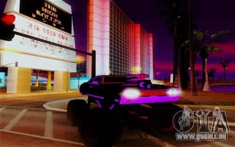 Cyber Sabre XL für GTA San Andreas
