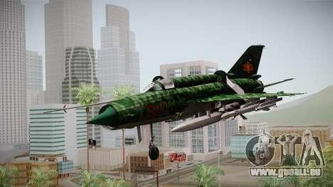 MIG-21 Norvietnamita für GTA San Andreas