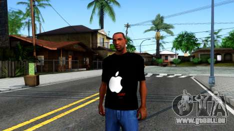 Apple T-shirt für GTA San Andreas
