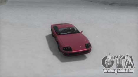 Jester Winter IVF pour GTA San Andreas sur la vue arrière gauche