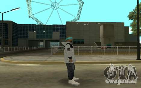 Varios Los Aztecas 2 pour GTA San Andreas deuxième écran