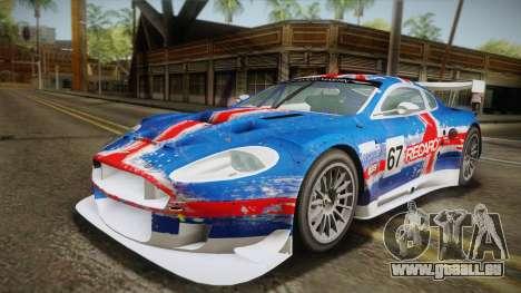 Aston Martin Racing DBR9 2005 v2.0.1 YCH Dirt für GTA San Andreas Unteransicht
