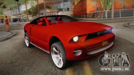 Ford Mustang 2005 pour GTA San Andreas