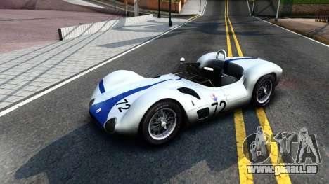 Maserati Tipo 61 pour GTA San Andreas