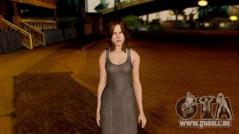 Resident Evil 6 - Helena Harper Dress pour GTA San Andreas deuxième écran