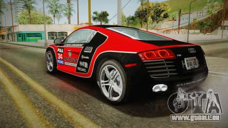 Audi R8 Coupe 4.2 FSI quattro US-Spec v1.0.0 v2 pour GTA San Andreas roue