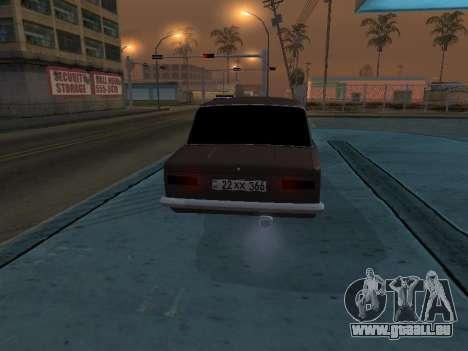 VAZ 2101 arménien pour GTA San Andreas vue de côté