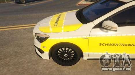 Deutscher Schwertransport Wagen pour GTA 5