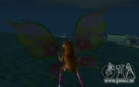 Flora Believix from Winx Club Rockstars pour GTA San Andreas troisième écran