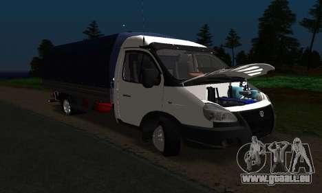 GAZelle 3302 Entlang für GTA San Andreas