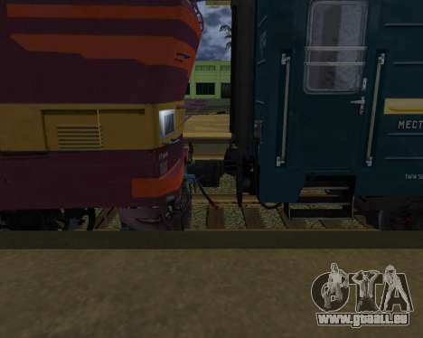 Zweite-Klasse-Abteil für GTA San Andreas