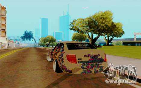 Lada Granta für GTA San Andreas zurück linke Ansicht
