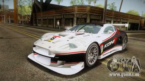 Aston Martin Racing DBR9 2005 v2.0.1 YCH Dirt für GTA San Andreas Motor
