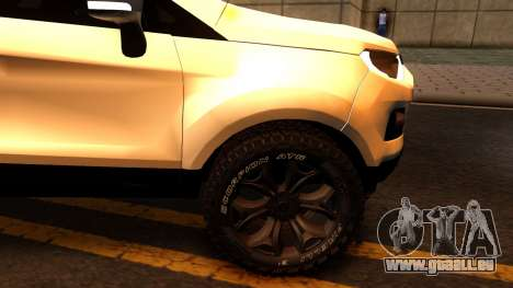 Ford EcoSport 2016 pour GTA San Andreas vue intérieure