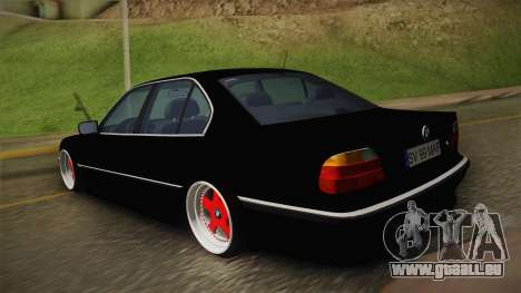 BMW 7 Series E38 Low für GTA San Andreas linke Ansicht