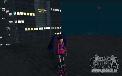 Musa Rock Outfit from Winx Club Rockstars für GTA San Andreas