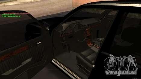 Mercedes-Benz W124 E500 Armenian für GTA San Andreas Seitenansicht