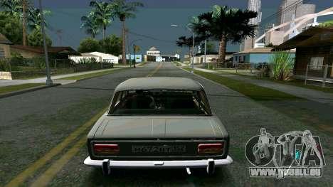 Lumineux timecyc pour GTA San Andreas quatrième écran