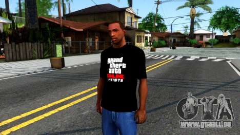 GTA Online T-Shirt pour GTA San Andreas
