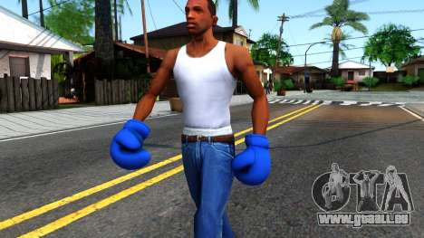 Blue Boxing Gloves Team Fortress 2 pour GTA San Andreas
