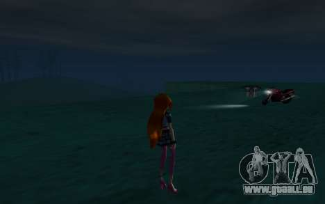 Bloom Rock Outfit from Winx Club Rockstar für GTA San Andreas her Screenshot