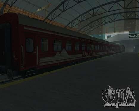 Fach Auto-Donezk-Moskau für GTA San Andreas Rückansicht