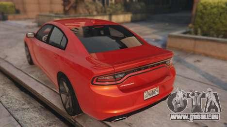 GTA 5 Maibatsu Revolution SG-RX Widebody arrière vue latérale gauche