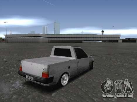 VAZ 1111 Drift für GTA San Andreas zurück linke Ansicht
