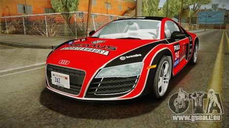 Audi R8 Coupe 4.2 FSI quattro US-Spec v1.0.0 v2 pour GTA San Andreas moteur