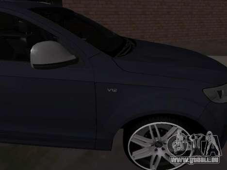Audi Q7 Armenian pour GTA San Andreas vue de droite