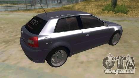 Audi S3 für GTA San Andreas rechten Ansicht
