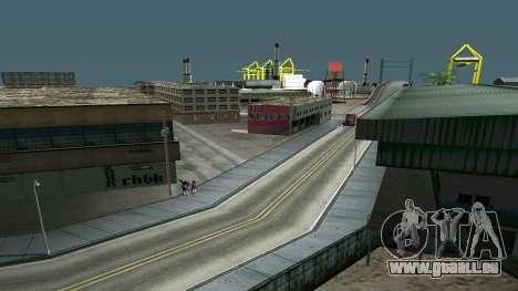 Lumineux timecyc pour GTA San Andreas troisième écran