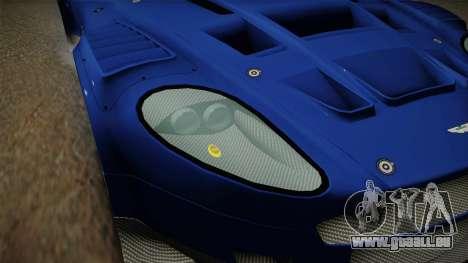 Aston Martin Racing DBR9 2005 v2.0.1 Dirt für GTA San Andreas Unteransicht