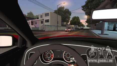 Dodge Charger R/T 2015 für GTA San Andreas Seitenansicht