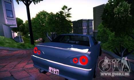 Elegy By DriftRealityTeam pour GTA San Andreas laissé vue