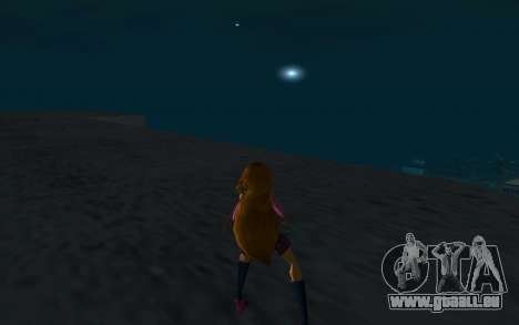 Flora Rock Outfit from Winx Club Rockstars pour GTA San Andreas troisième écran