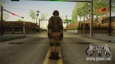 Resident Evil ORC - USS v1 pour GTA San Andreas troisième écran