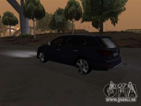 Audi Q7 Armenian pour GTA San Andreas vue de côté