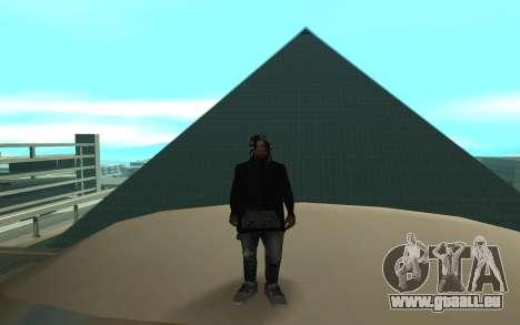 Grove Street Gang Member für GTA San Andreas