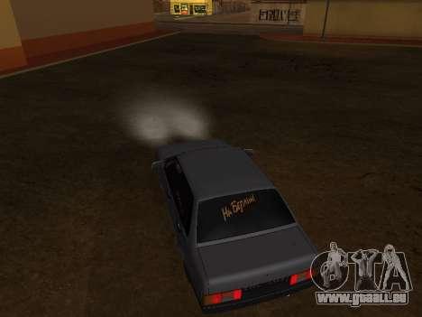 VAZ 21099 BPAN für GTA San Andreas Innenansicht