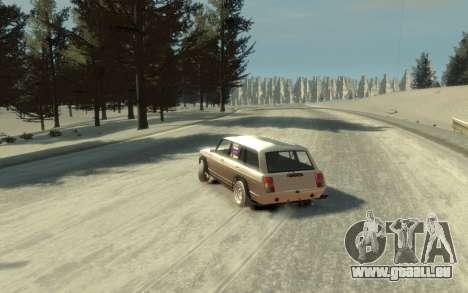 VAZ 2104 VFTS für GTA 4 Innenansicht