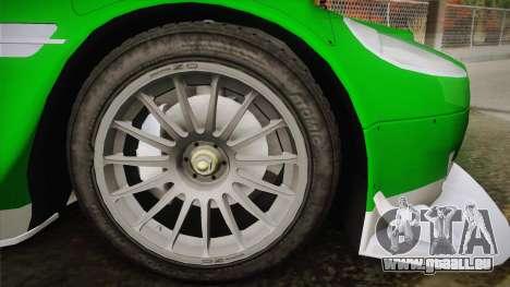 Aston Martin Racing DBR9 2005 v2.0.1 YCH Dirt für GTA San Andreas zurück linke Ansicht
