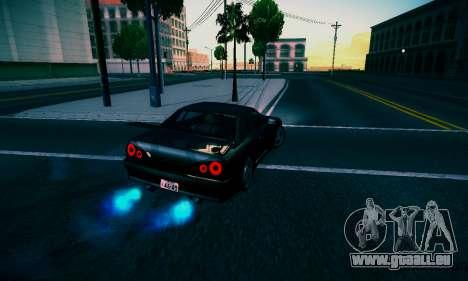 Elegy By DriftRealityTeam pour GTA San Andreas sur la vue arrière gauche