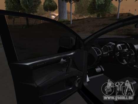 Audi Q7 Armenian pour GTA San Andreas vue de dessus